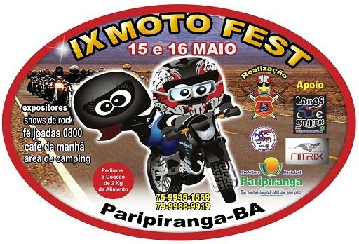 IX Moto Fest de Paripiranga/BA