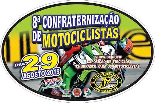 Confraternização de Motociclistas/SC – 8ª Edição