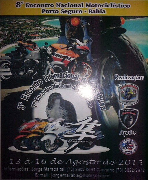 Encontro Nacional Motociclístico Porto Seguro – Bahia – 8ª Edição