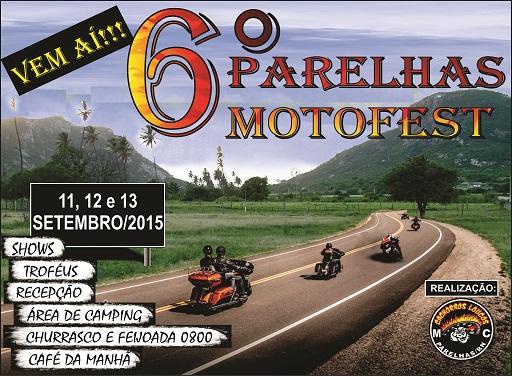 Parelhas Moto Fest – 6ª Edição
