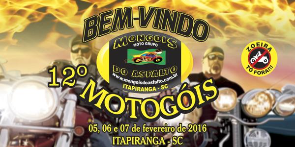 12º Motogóis – Encontro Internacionais de Motociclistas