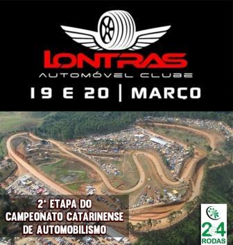 2ª Etapa co Campeonato Catarinense em Lontras/SC