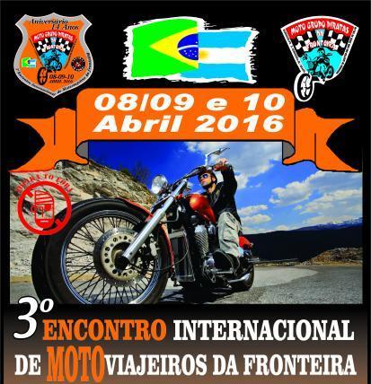 3º Encontro De Motoviajeiros Da Fronteira – Internacional