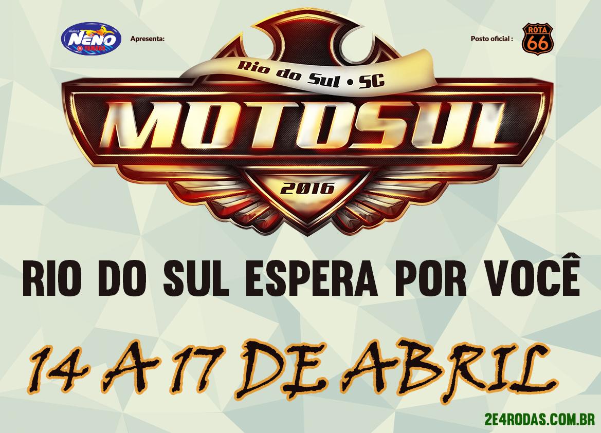 MotoSul2016 – Rio do Sul/SC