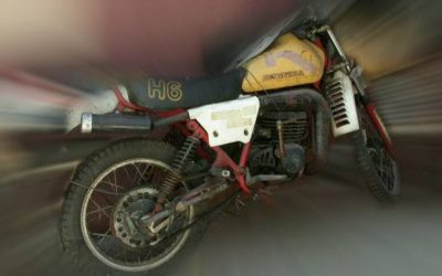 Gasolina vencida no tanque da moto
