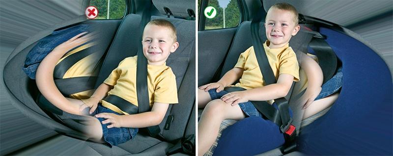 Como transportar seus filhos com segurança.